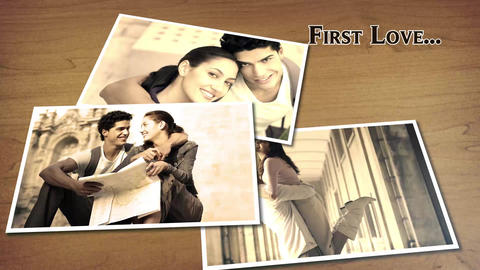 Sliding Photos Album After Effects Template