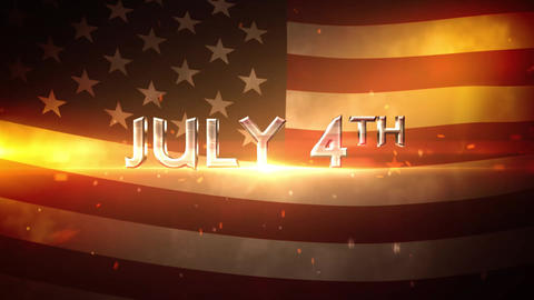 July 4th Cinematic Opener After Effects Template