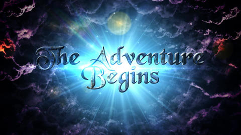 The Adventure Begins Cinematic Opener After Effects Template