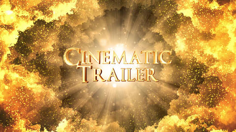 Cinematic Movie Trailer After Effects Template