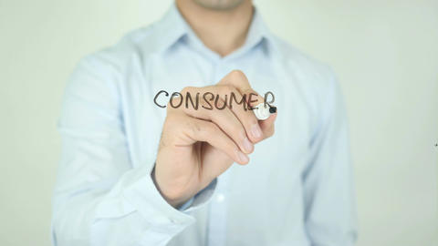 Consumer Affairs, Writing On Transparent Screen Live Action