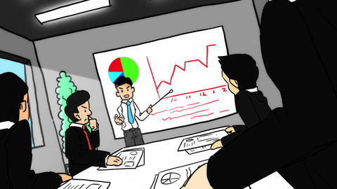 SHA Presentation Anime CG動画素材