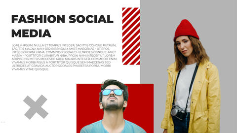 Fashion Social Media After Effects Template