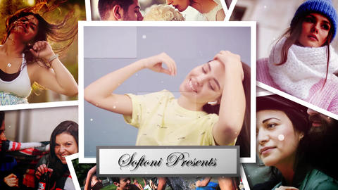 Polaroid Photo Slideshow After Effects Template
