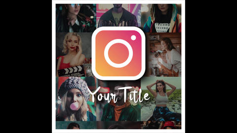 Fast Instagram Intro After Effects Template