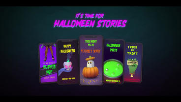 Halloween Stories Pack Premiere Pro Template