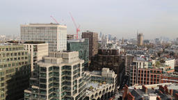 London skyline from Westminster Cathedral London UK 1 Footage