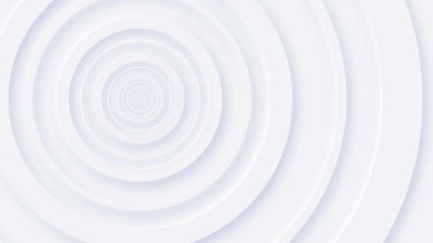 Clean White Neomorphism Circles Background Animation