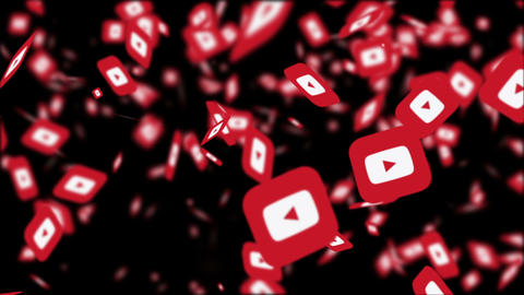 Youtube Logo Motion Graphics 動畫