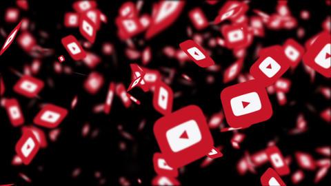 Youtube Logo Motion Graphics Animation