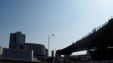 Tokyo urban landscape, urban development area Live Action