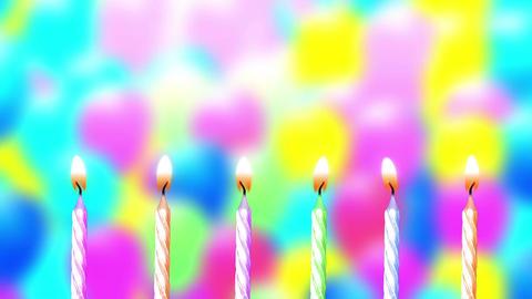 Birthday Magic Candles (3) Animation