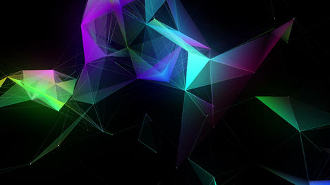 Abstract Plexus Animation Background 動畫