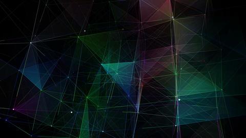 Cube Plexus Background 動畫