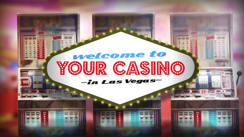 Slot Machine Logo Opener After Effects Template