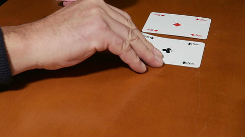 Play poker Stock Video Footage