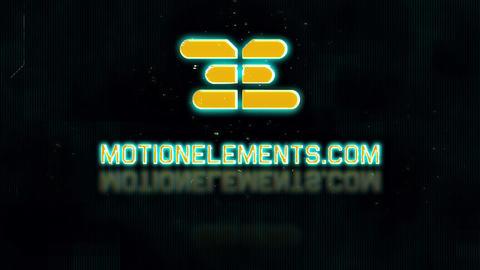 Cyber Glitch Logo V.3 Plantillas de Premiere Pro