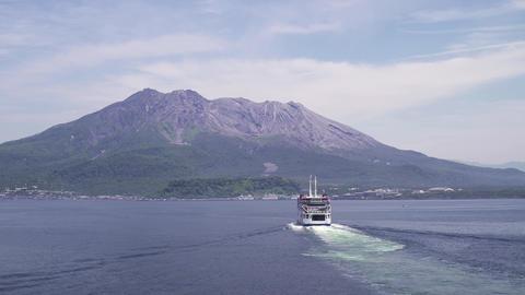 Sakurajima Ferry Footage