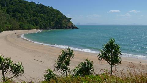 Tropical beach on Koh Lanta island, Thailand, 4k Footage
