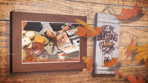 Thanksgiving Frames After Effects Template