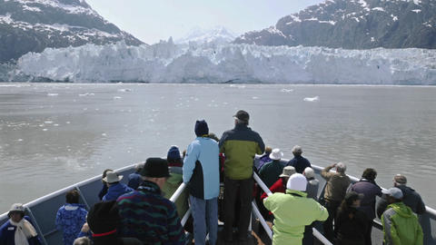 Point of view time-lapse of tourists on the bow of Stock Video Footage