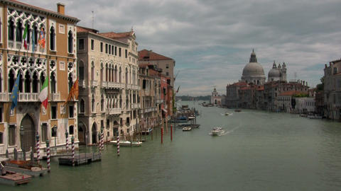 Grand Canal, Venice Stock Video Footage