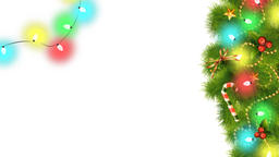 Christmas Decorations On Transparent Background 06 Animation