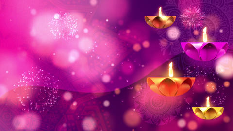 Happy Diwali Festival Cerebration Animation