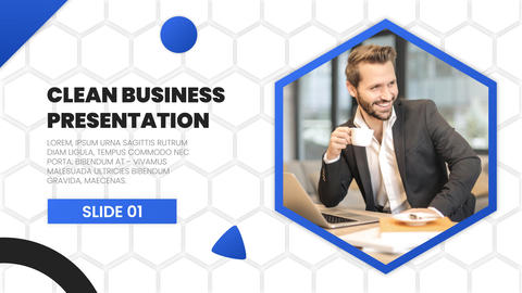 Clean Business Presentation After Effects Template