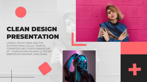 Clean Design Presentation After Effects Template