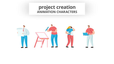Project Creation - Character Set After Effects Template