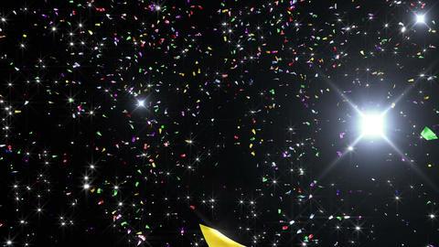 Confetti 3 Move 8LB 4K CG動画素材