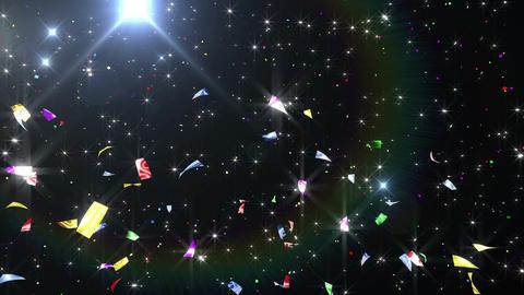 Confetti 3 Verti Fix 4XB 4K CG動画素材