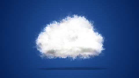 Cloud computing cloud technology internet of things concept background from heavenly clouds symbol Live Action