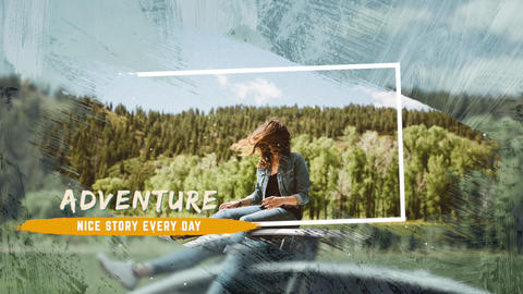 Travel Slideshow Apple Motion Template