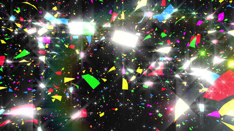 Confetti 3 LookUp Fix 4MB 4K CG動画素材