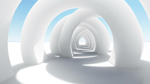 Abstract architecture concept of organic architecture animation and rendering 10 Live Action