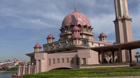 Malaysia city of Patrajaya administrative center Footage