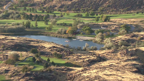 Idaho scenery from the banks of Snake River nearby Pocatello 1 Footage