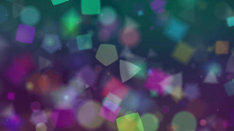 Particle circle soft glitter background47 Animation