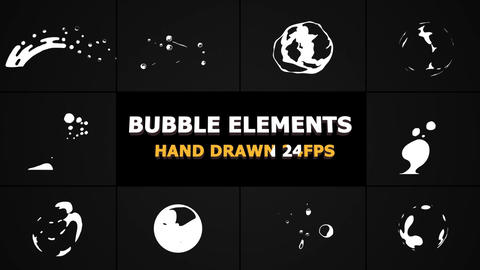 Flash FX BUBBLE Elements After Effects Template