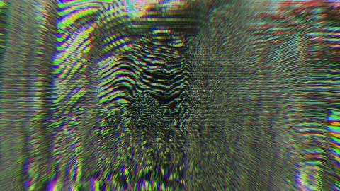 Vibrant psychedelic futuristic futuristic iridescent background Live Action