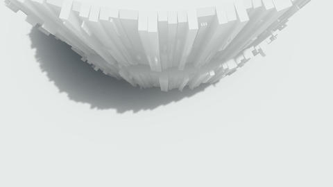 Abstract architecture concept of organic architecture animation and rendering 11 Live Action