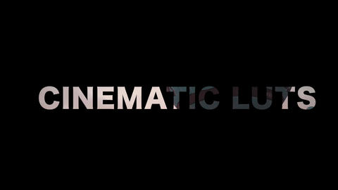 Cinematic Luts Apple Motion Template