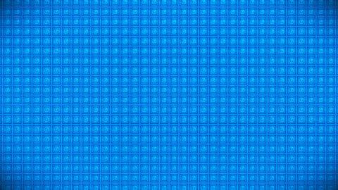 Broadcast Pulsating Hi-Tech Cubes Wall, Blue, Events, 3D, Loopable, 4K 動畫