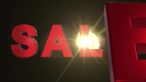 Sale 3d Text Animation_003 動畫
