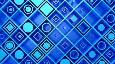 Background of Geometric Shapes 動畫