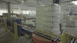 Production on the Assembly line at the factory Footage