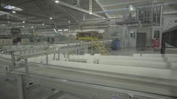The conveyor operates at a big plant Live Action