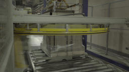Conveyor during production runs at the plant Live Action